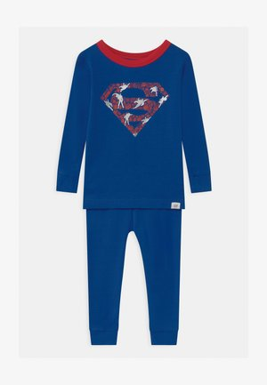 TODDLER BOY SUPER MAN  - Pyžamová sada - admiral blue