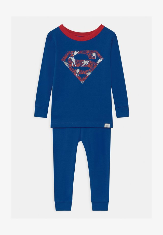TODDLER BOY SUPER MAN  - Nattøj sæt - admiral blue