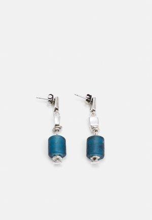BATU BOLONG - Náušnice - blue/silver-coloured