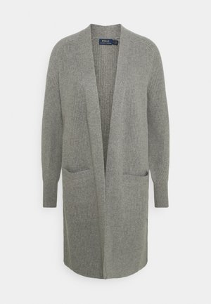 Cardigan - grey heather
