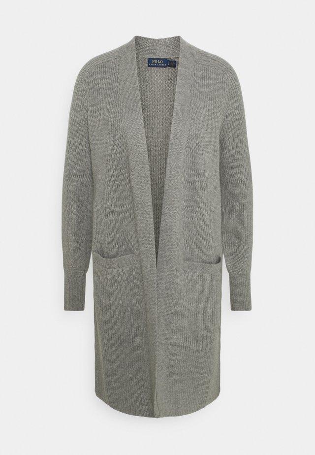 Cardigan - grey heather