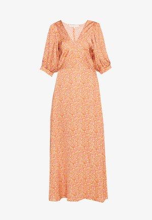 NADETTE - Robe d'été - orange