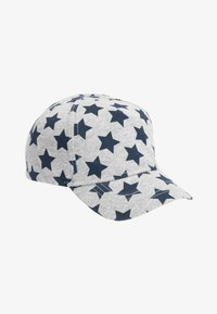Next - NAVY/GREY 2 PACK STAR CAPS (YOUNGER) - Cap - blue - 1
