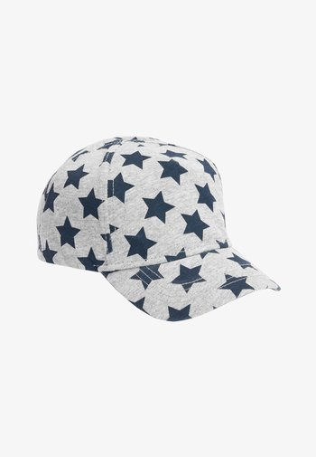 NAVY/GREY 2 PACK STAR CAPS (YOUNGER)