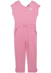 Nike Sportswear - ROMPER - Overal - magic flamingo/white - 0
