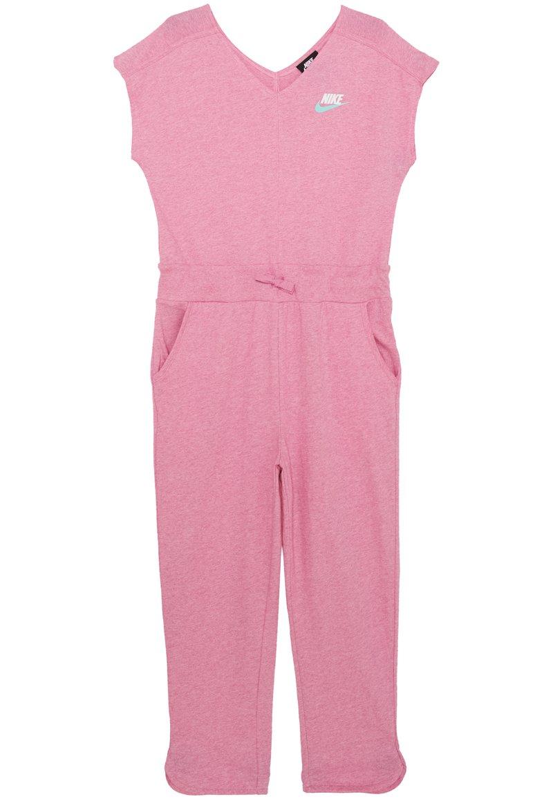 Nike Sportswear - ROMPER - Overal - magic flamingo/white