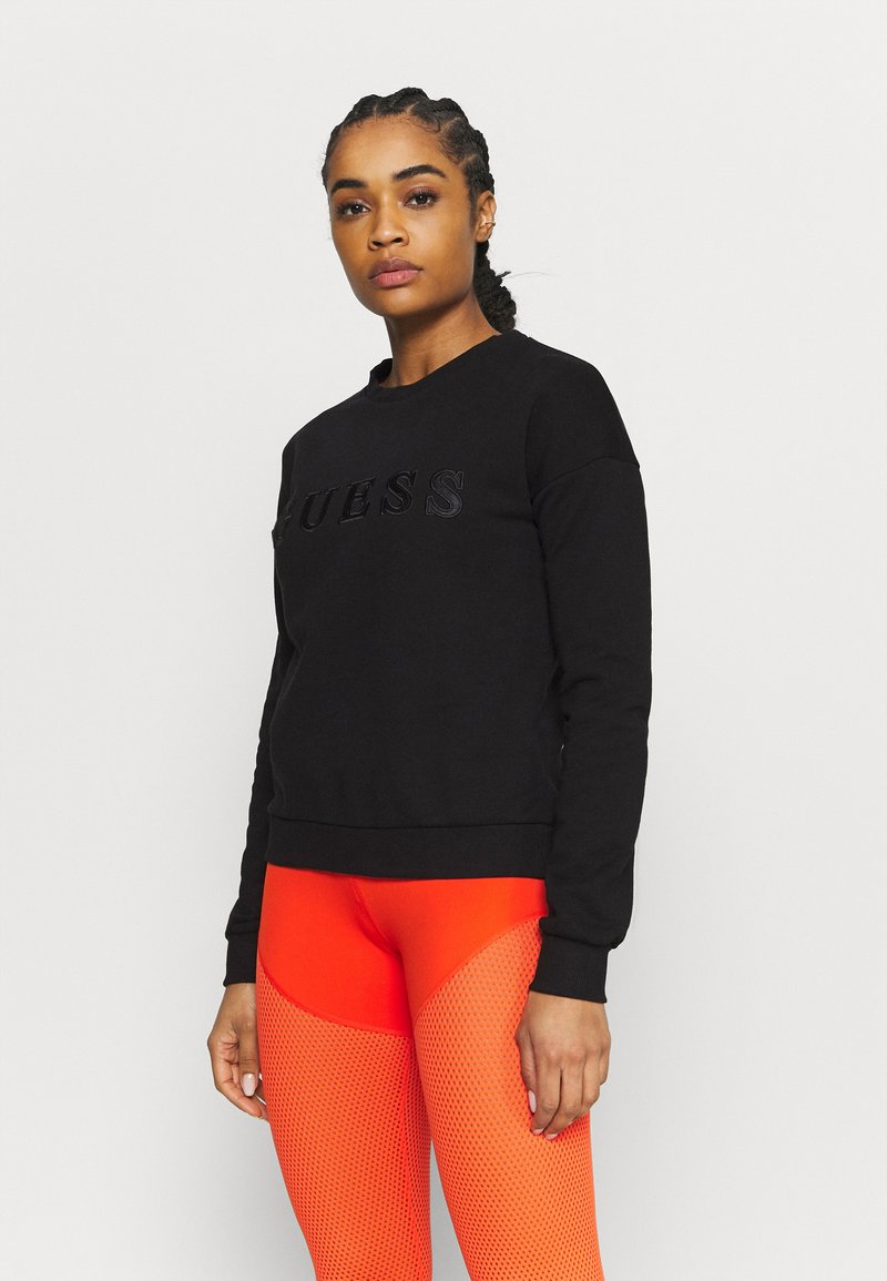 Guess - Sweatshirt - jet black
