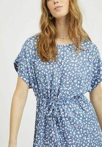 Vila - Day dress - colony blue - 3