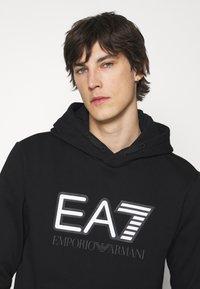 EA7 Emporio Armani - Mikina - black/white - 3