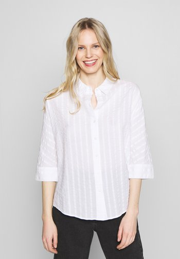 FJELLA - Button-down blouse - milk