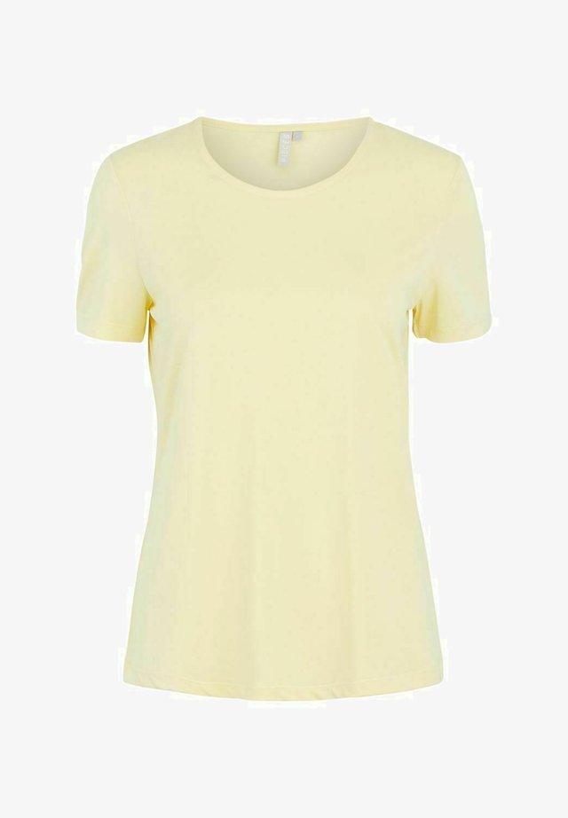 T-shirt basic - pale banana