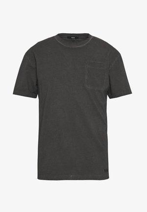 ALESSIO - Print T-shirt - vintage black