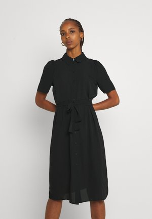 VMVEGA SHIRT DRESS - Košilové šaty - black