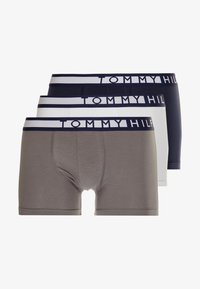 Tommy Hilfiger - TRUNK  3 PACK - Pants - white - 3