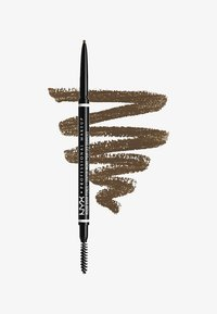 Nyx Professional Makeup - MICRO BROW PENCIL - Eyebrow pencil - 5 ash brown - 0