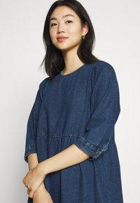 Noisy May - NMJESSIE DRESS - Maxi dress - medium blue denim - 3