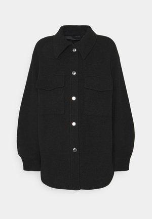 HAZEL SCALE UP - Short coat - black