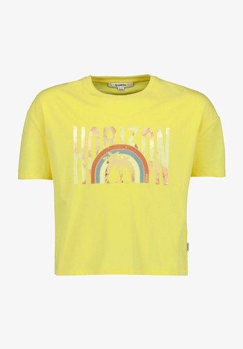 T-Shirt print - summer yellow