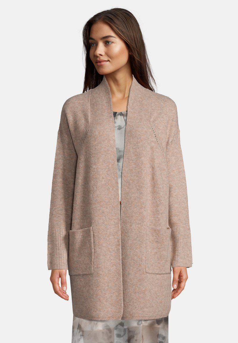 Betty & Co - Cardigan - light camel melange