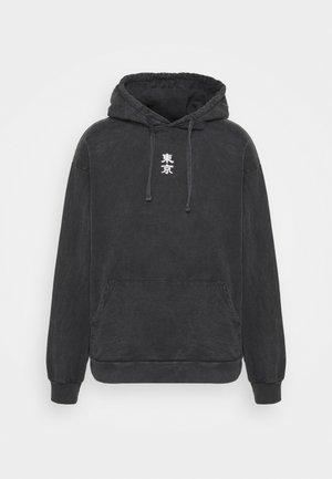 NEAL - Bluza z kapturem - black