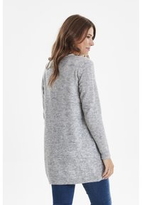 Fransa - FREMALLY - Cardigan - light grey melange - 2