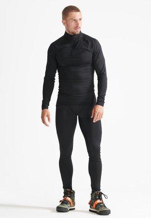 SPORT - Tracksuit bottoms - black