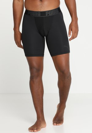ACTIVE LONG BOXER PACKED - Onderbroeken - black