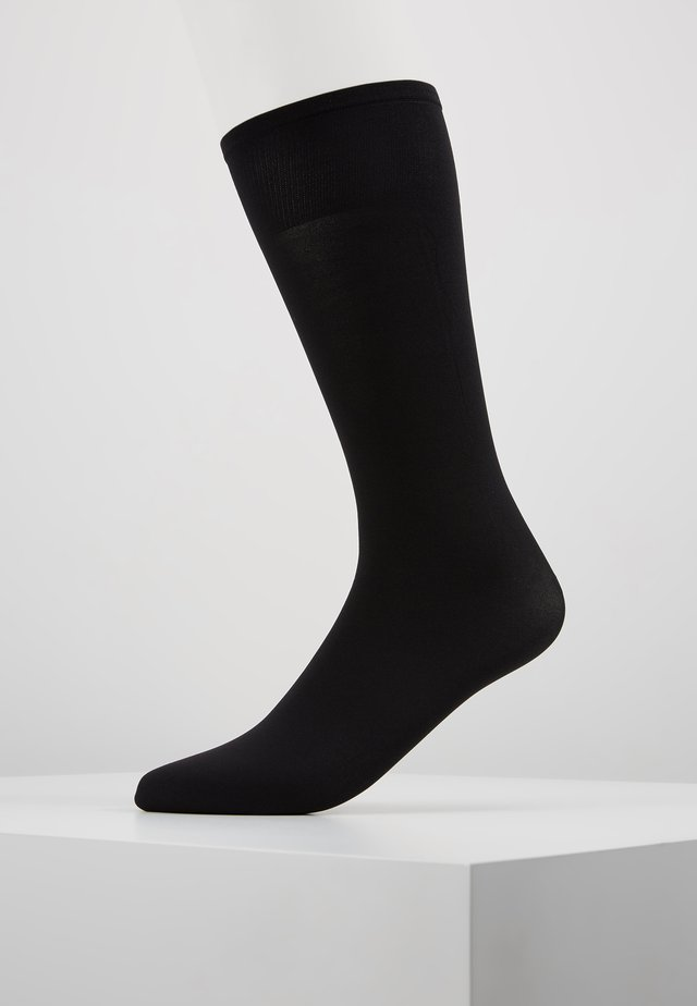 INGRID KNEE HIGH - Knestrømper - black