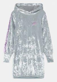 Nike Sportswear - HOOD - Day dress - silver - 0
