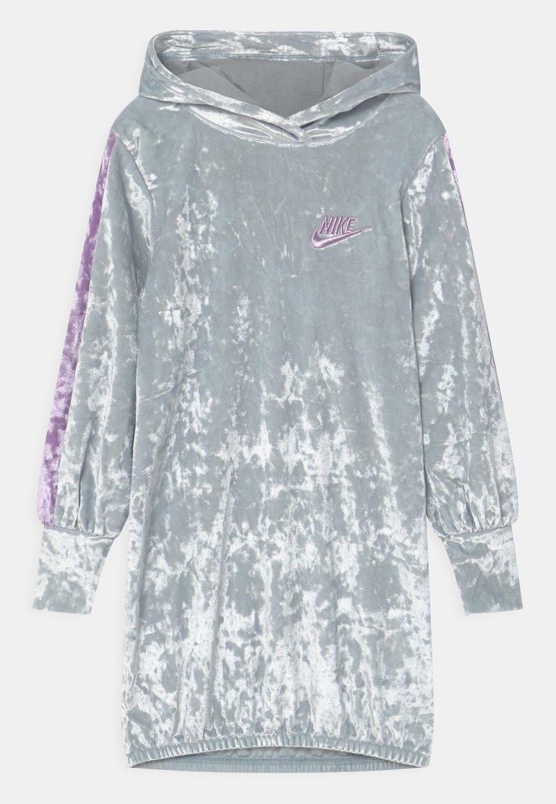Nike Sportswear - HOOD - Day dress - silver