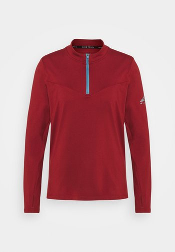 ELEMENT TRAIL MIDLAYER - Sports shirt - dark cayenne
