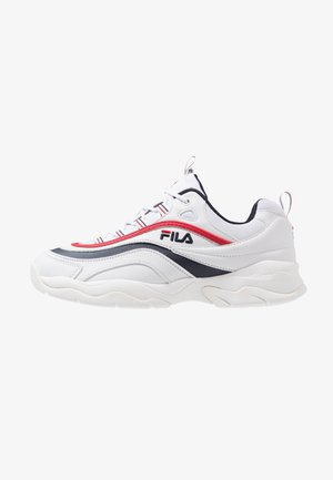 RAY - Sneakersy niskie - white/navy/red
