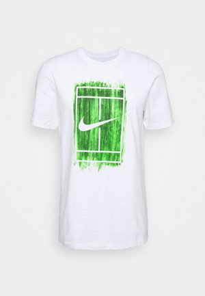 TEE COURT - Print T-shirt - white