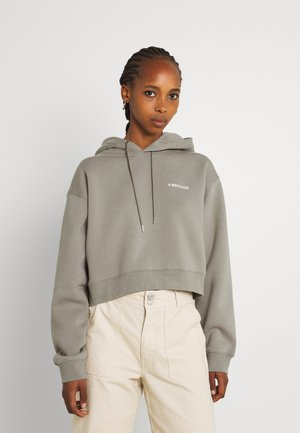 FAITH HOODIE WOMEN - Sweatshirt - stone grey