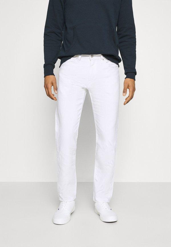 Levi's® WELLTHREAD 502 - Jeansy Straight Leg - neutrals/biały denim Odzież Męska SPBC
