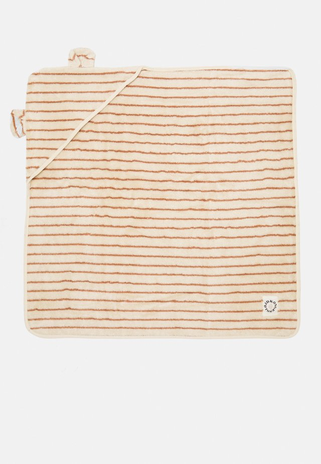 TOWEL STRIPED - Bath towel - bisquit