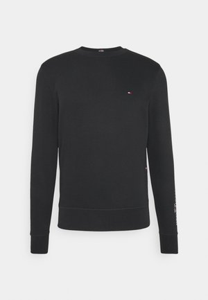TOMMY SLEEVE LOGO SWEATSHIRT - Sudadera - black