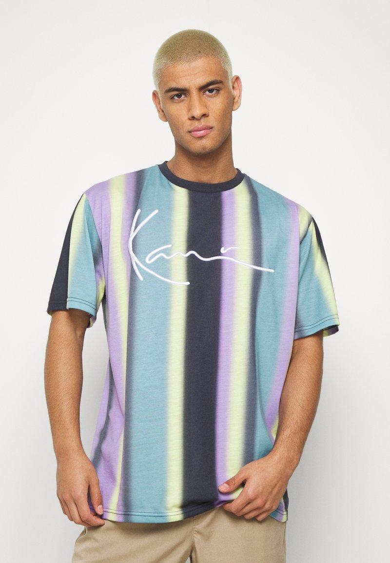 Karl Kani - Print T-shirt - navy