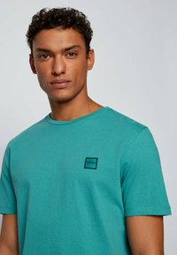 BOSS - TALES - Basic T-shirt - turquoise - 3