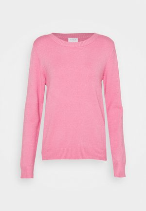 VIRIL O-NECK  - Strickpullover - wild rose melange