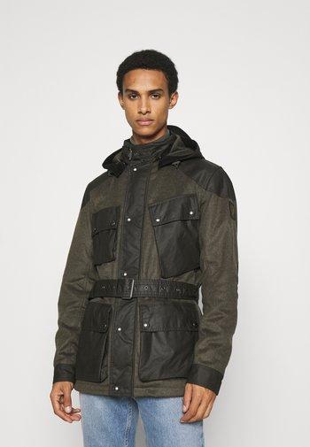 LANDSMAN - Short coat - faded olive/salvia