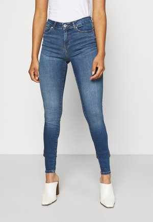 NMLUCY S TALL - Jeans Skinny Fit - medium blue