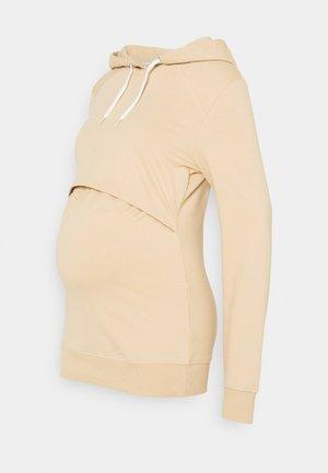 NURSING - Sweatshirt - Hoodie - sand