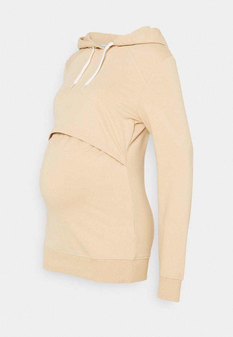 Anna Field MAMA - NURSING - Sweatshirt - Hoodie - sand