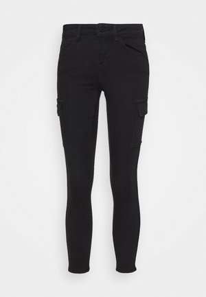 NMLUCY UTILITY PANTS - Trousers - black