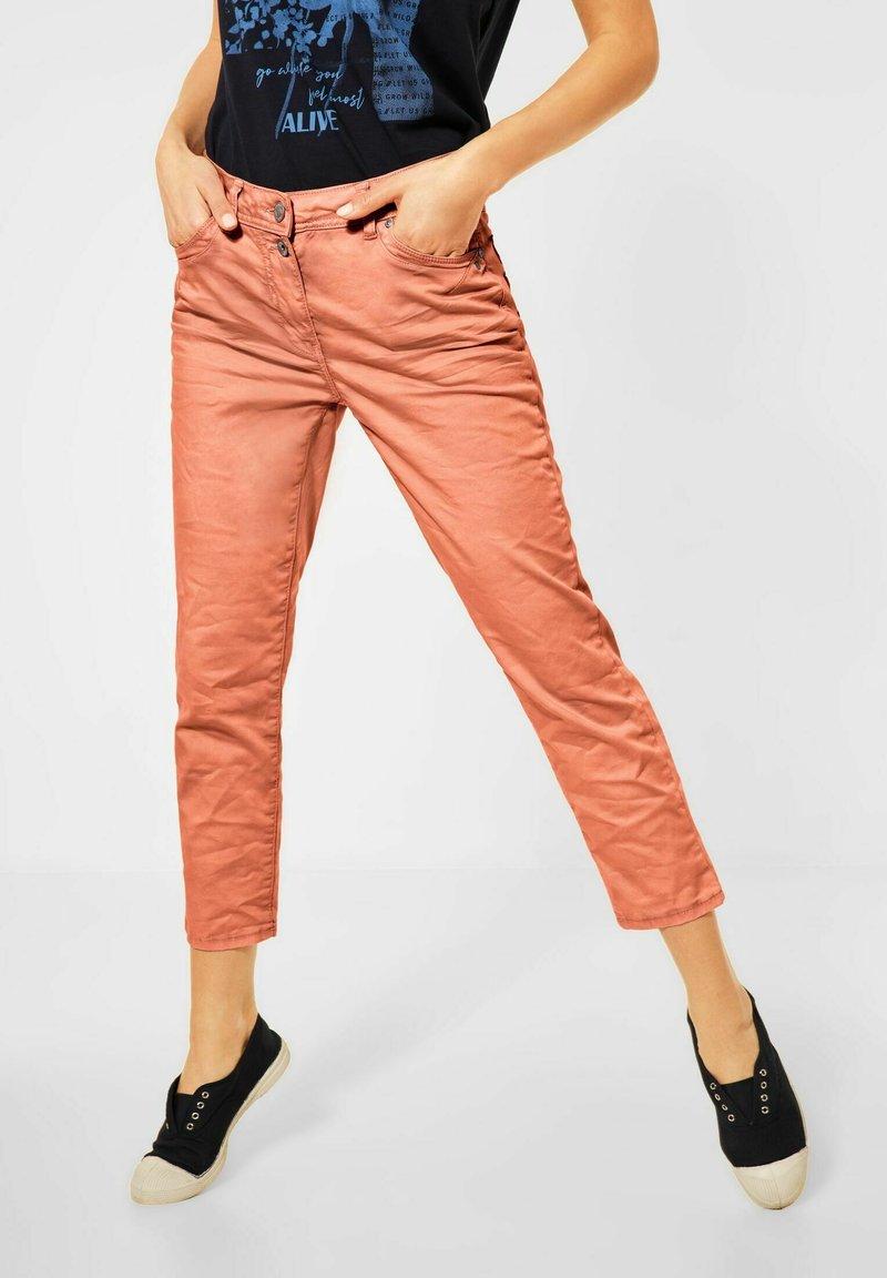 Cecil - Trousers - orange