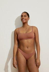 OYSHO - Bikini bottoms - brown - 1