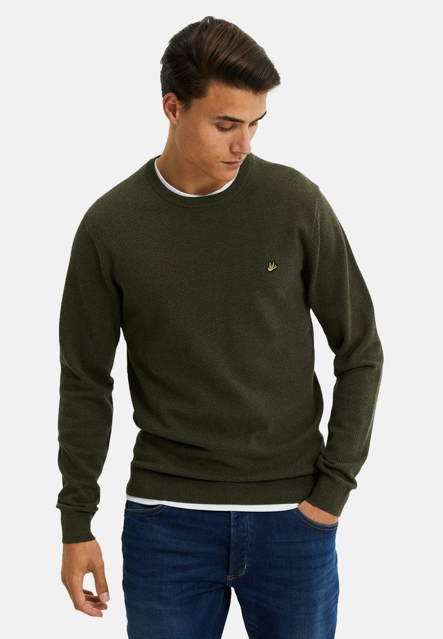 MET STRUCTUUR - Pullover - army green
