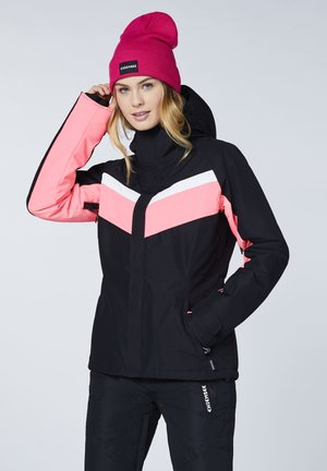 Snowboard jacket - deep black