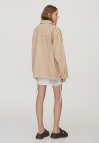 PULL&BEAR - Denim jacket - beige - 2